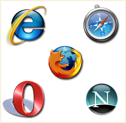 Internet Browser Logos And Names The Internet is is a global