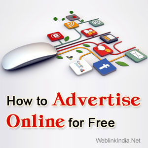 How to Advertise Online for Free