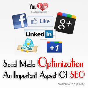 Social Media Optimization – An Important Aspect Of SEO