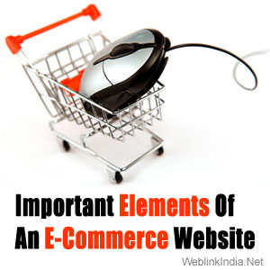 Important Elements Of An E-Commerce Website