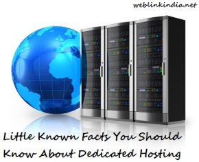 Little Known Facts You Should Know About DedicatedHosting